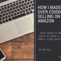How I made over £50000 gross sales selling on Amazon!