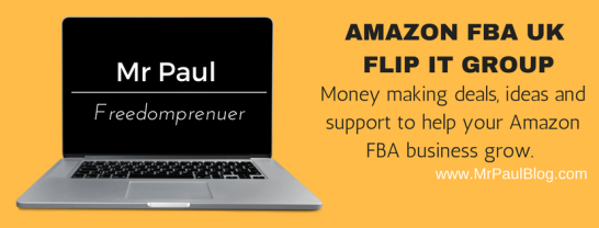 AMAZON FBA UK FLIP IT GROUP