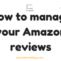 How to manage your Amazon reviews